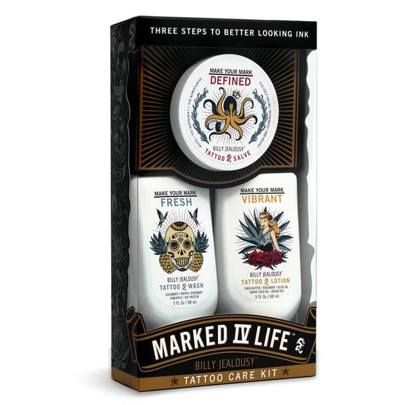 Billy Jealousy Marked IV Life Tattoo Care Kit