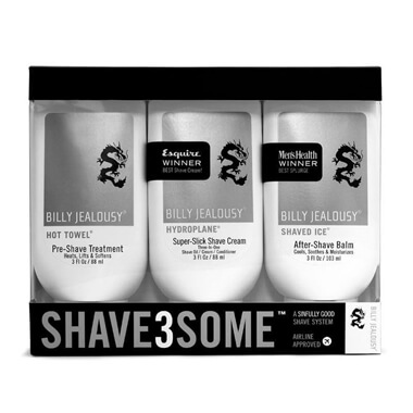 Billy Jealousy Shave3Some Travel Kit