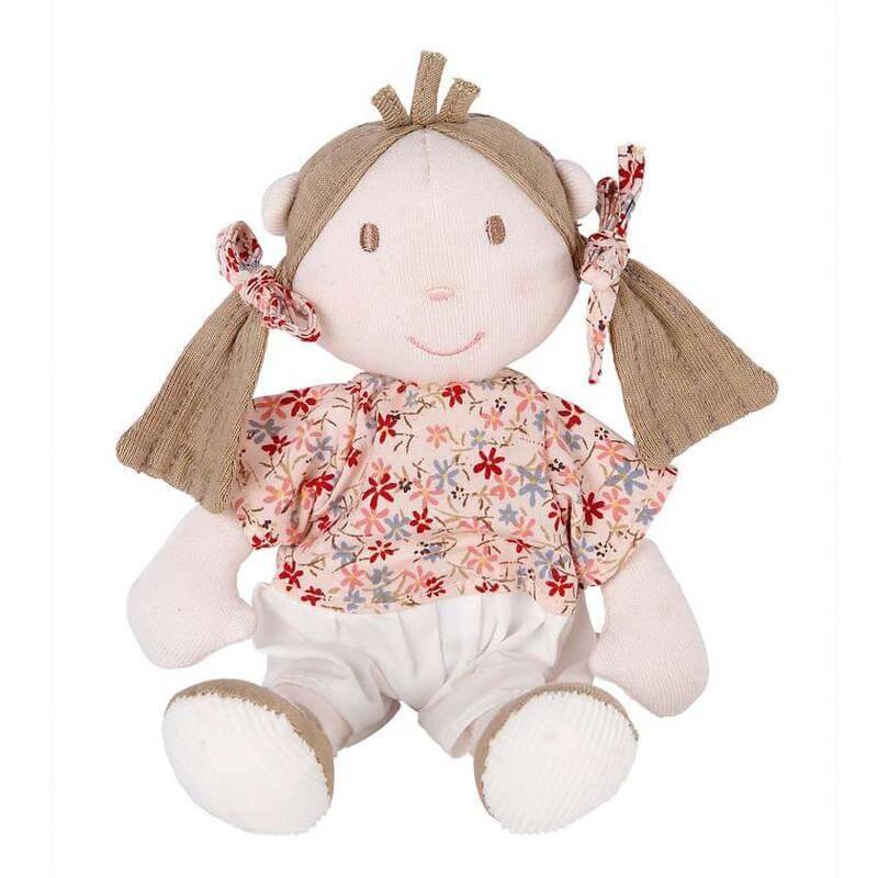 Mamas & Papas Mini Berry Rag Doll