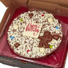 Happy Birthday Chocolate Pizza - For Him
