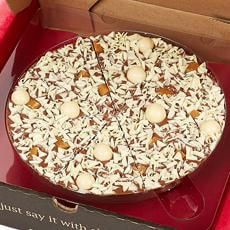 Salted Caramel Chocolate Pizza