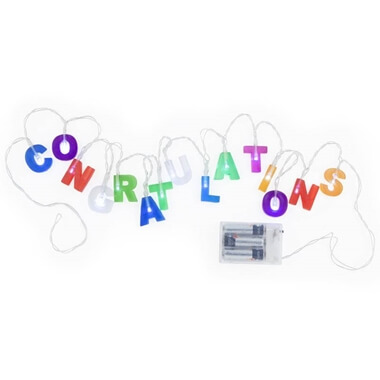 Congratulations String Lights