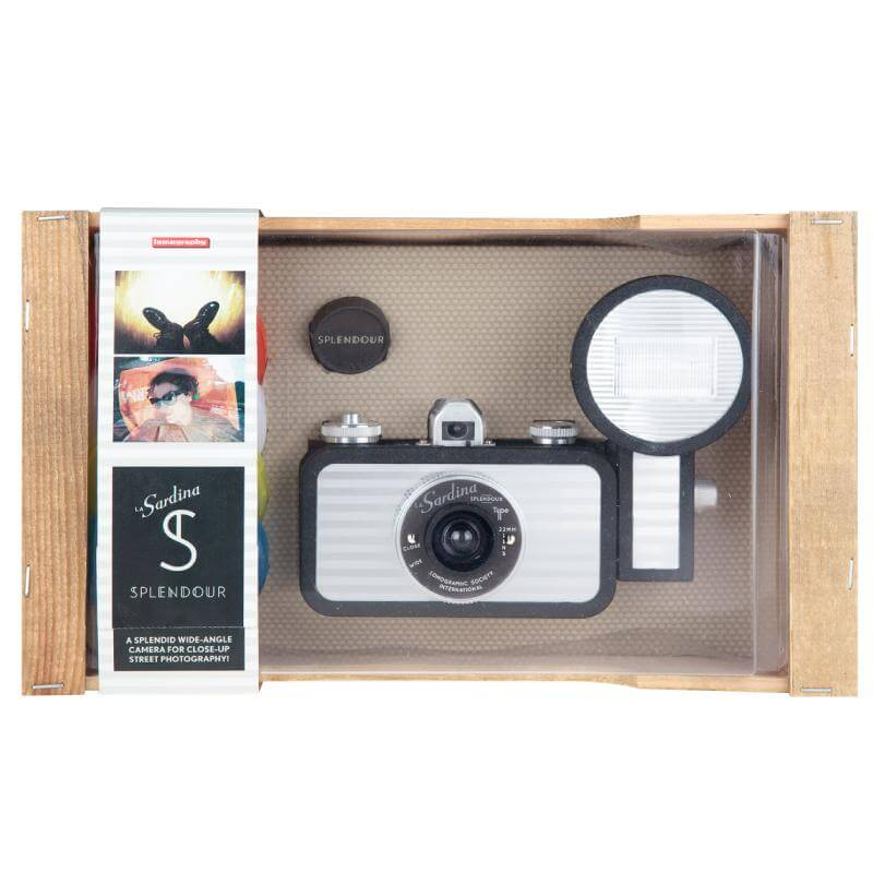 Lomography La Sardina and Flash Splendor Camera