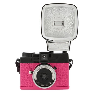 Lomography Diana Mini and Flash – En Rose Camera