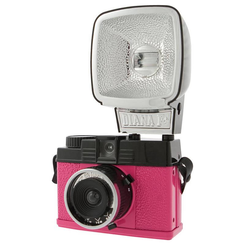 Lomography Diana Mini and Flash – En Rose Camera