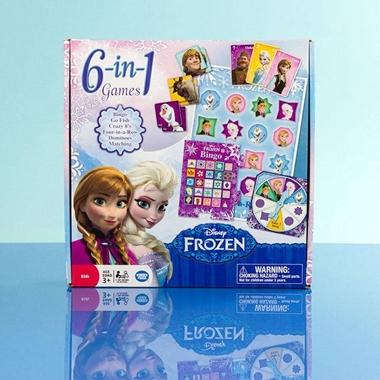 Frozen 6 in 1 Games Compendium