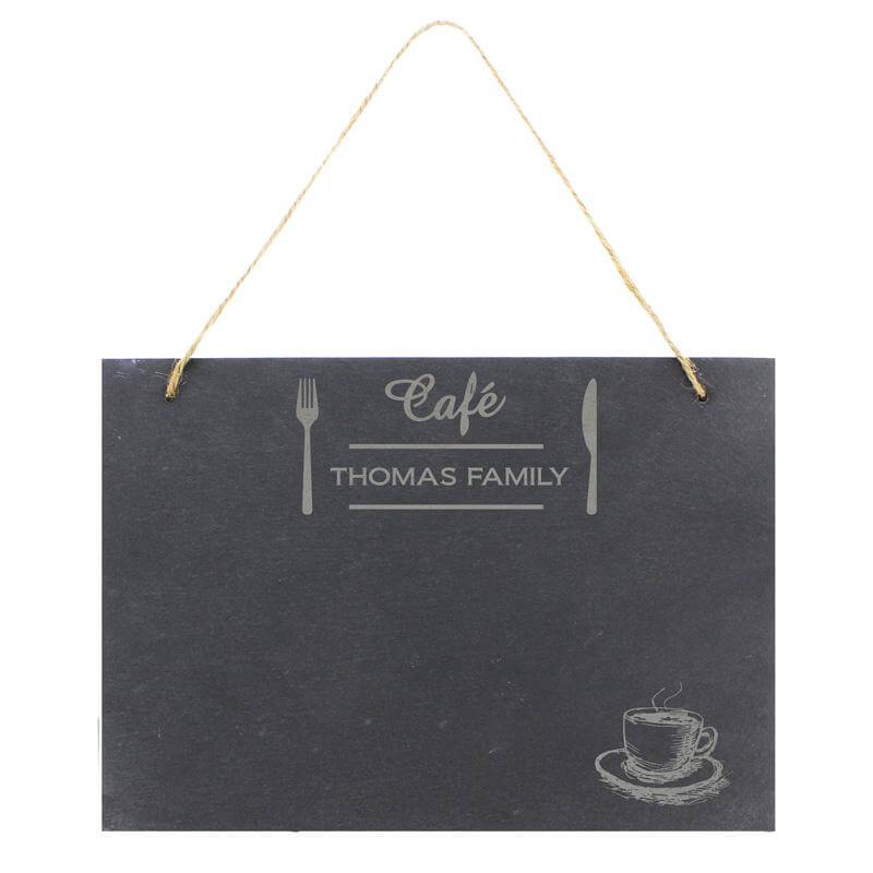 Personalised Bistro Slate Sign