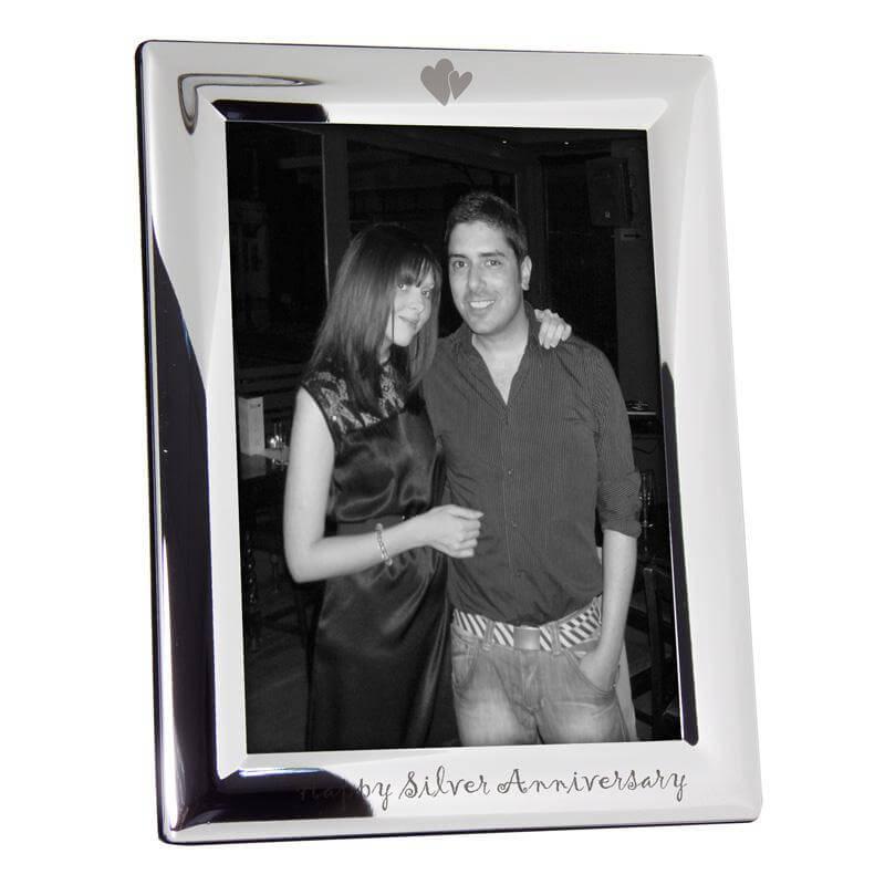 Silver Anniversary Photo Frame