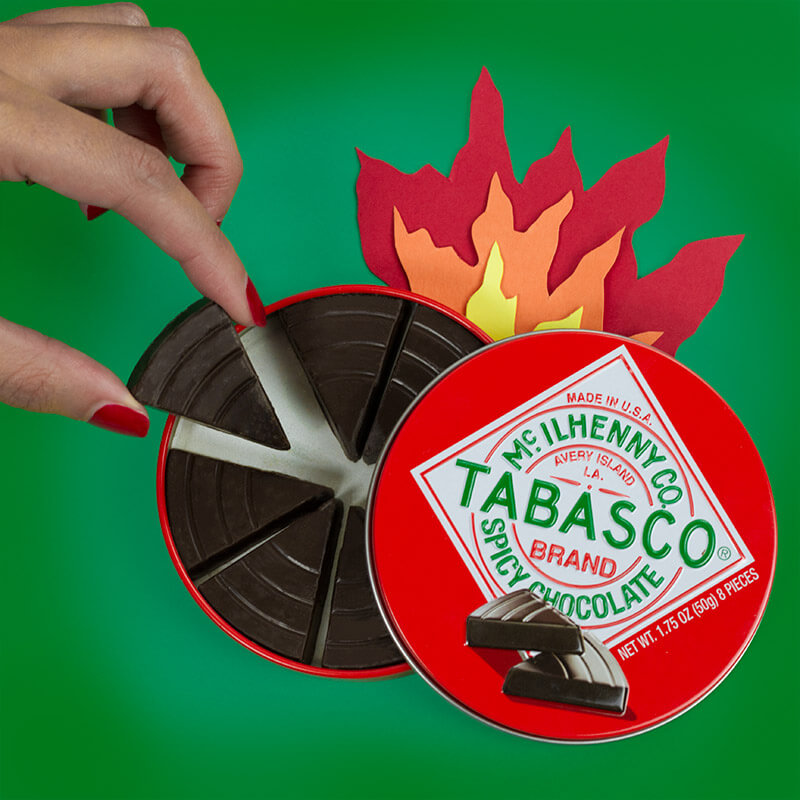 Tabasco Chocolate Tin