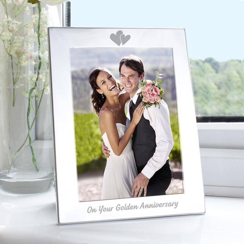 Golden Anniversary Photo Frame