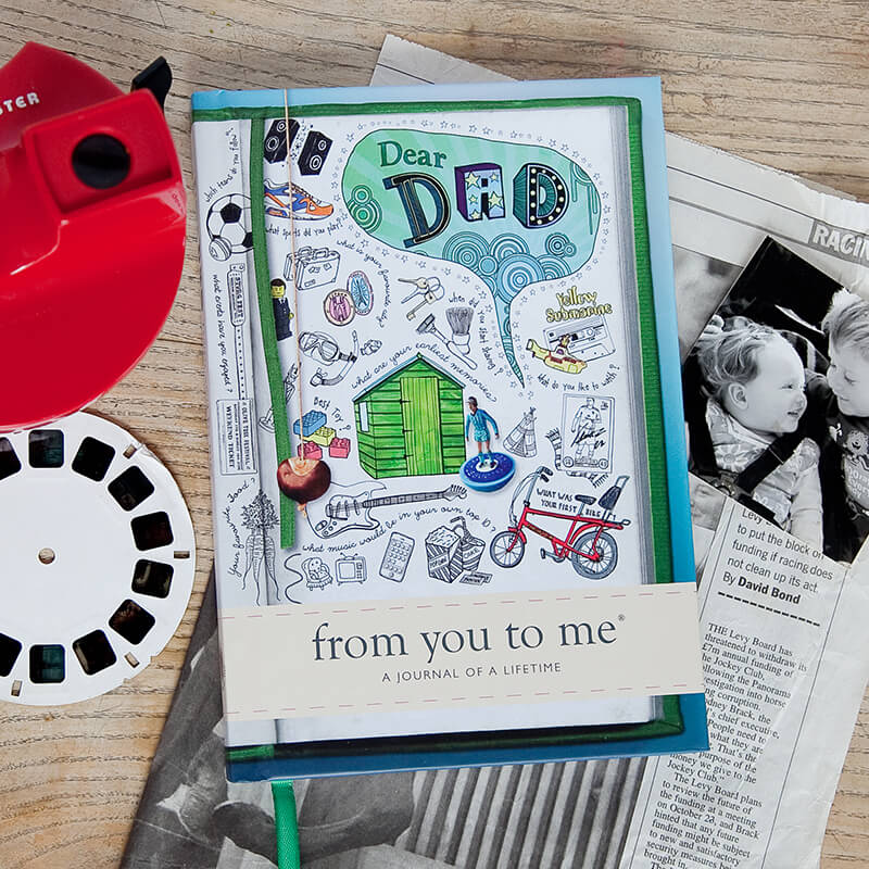 Dear Dad - From You to Me Book
