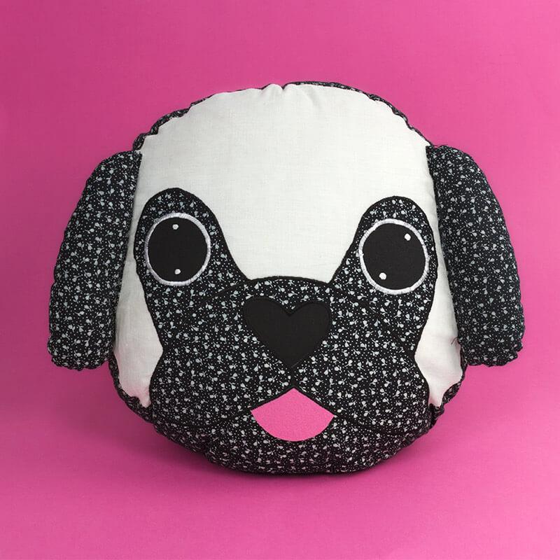 Pablo the Pug Cushion