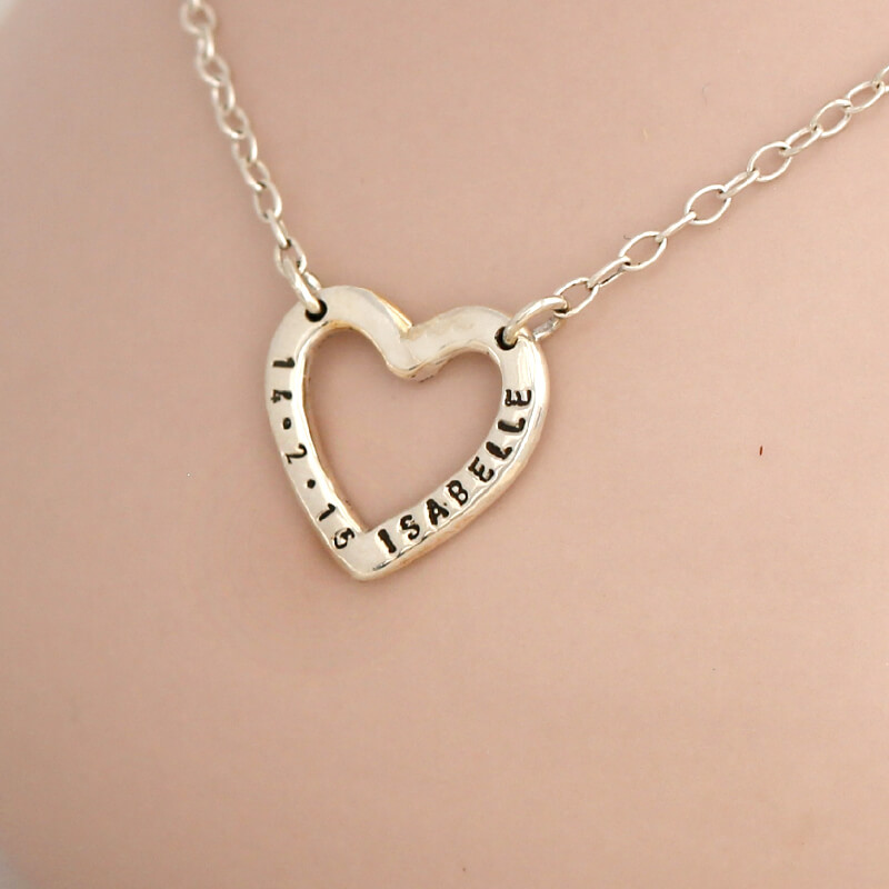 Personalised Sweetheart Necklace