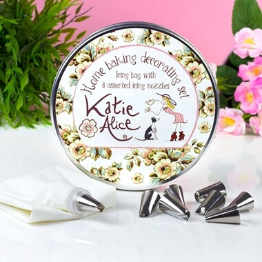 Katie Alice Cottage Flower Cookware - 10 Piece Icing Set