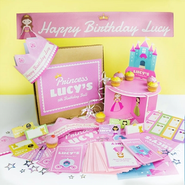 Personalised Princess Party Pack