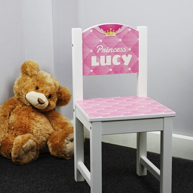 Personalised Princess Chair
