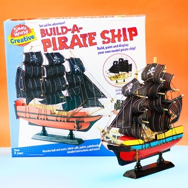 Build Your Own Pirate Ship