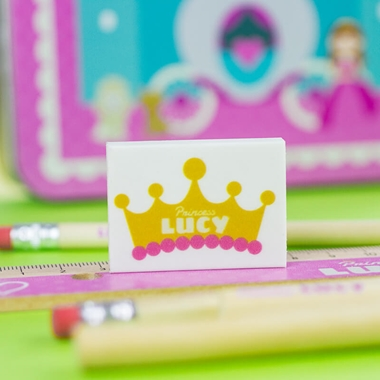 Personalised Princess Stationary Set