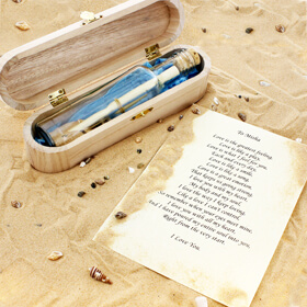 Personalised Message in a Bottle