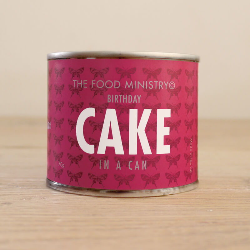Birthday Cake In A Can