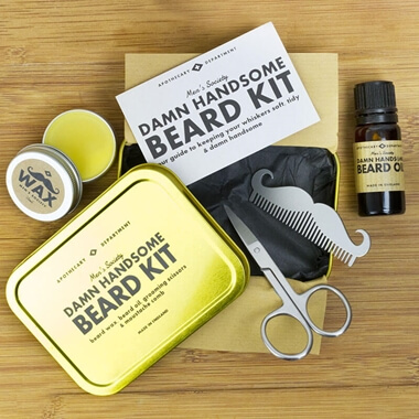 Damn Handsome Beard Grooming Kit