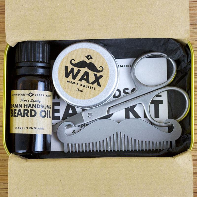 Damn Handsome Beard Grooming Kit