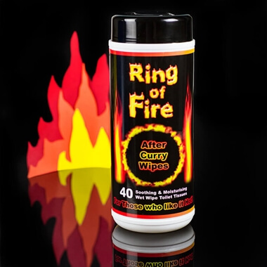 Ring of Fire After Curry Wipes