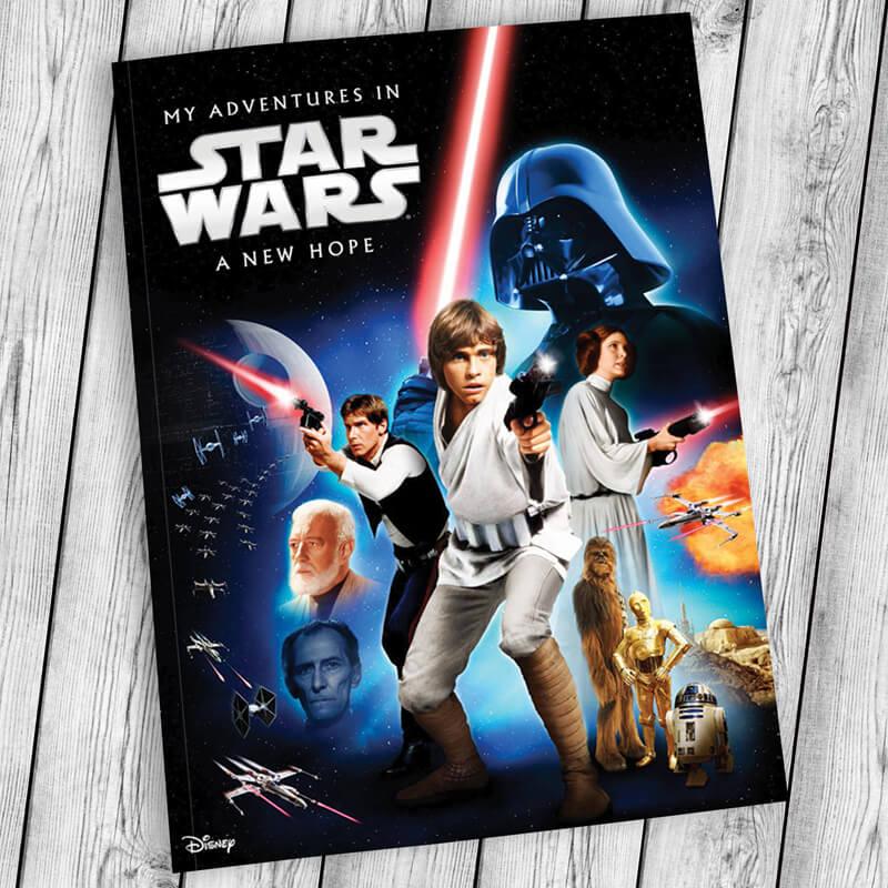Personalised Star Wars Adventure Book