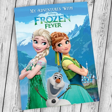 Personalised Disney Frozen Fever Book