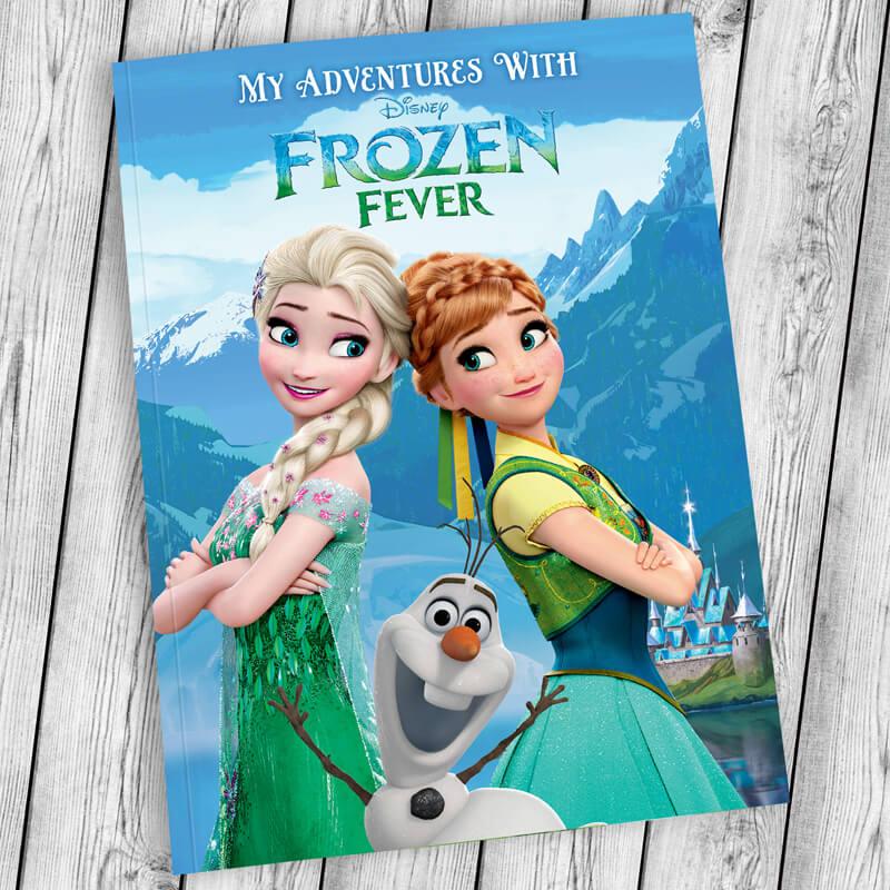 Personalised Disney Frozen Fever Book