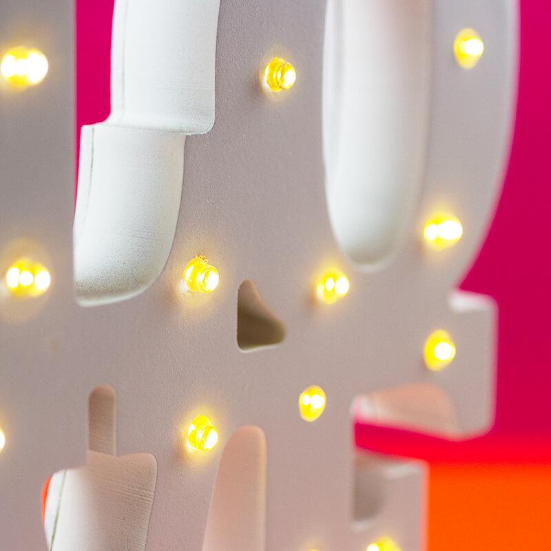 Love Light Up LED Decoration