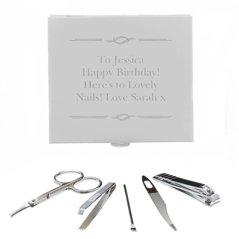 Personalised Manicure Set