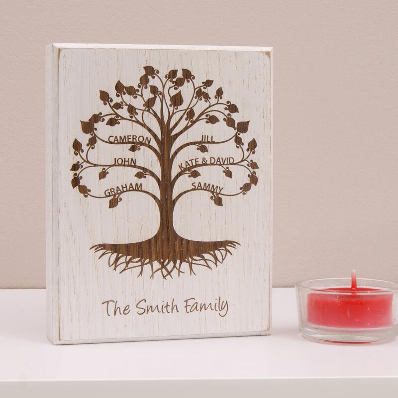 Personalised Mini Family Tree