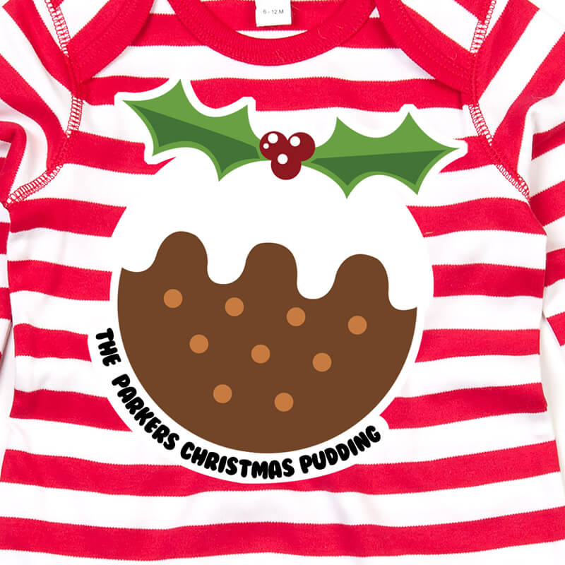 Personalised Christmas Pudding Rompa