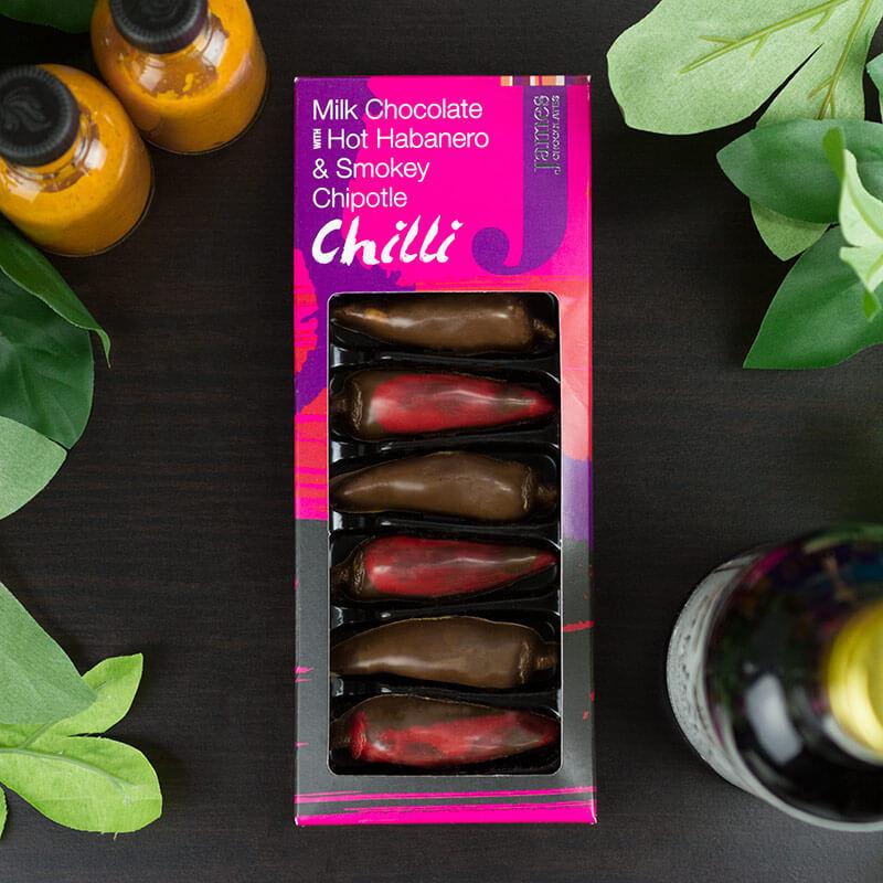 Milk Chocolate Chillies
