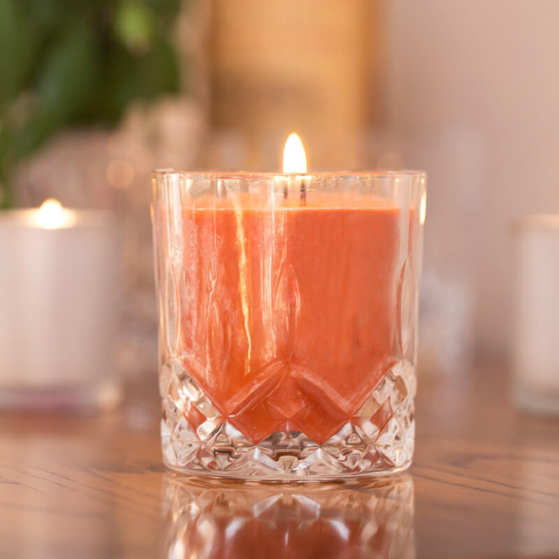 Bourbon Oak Smoked Scented Candle