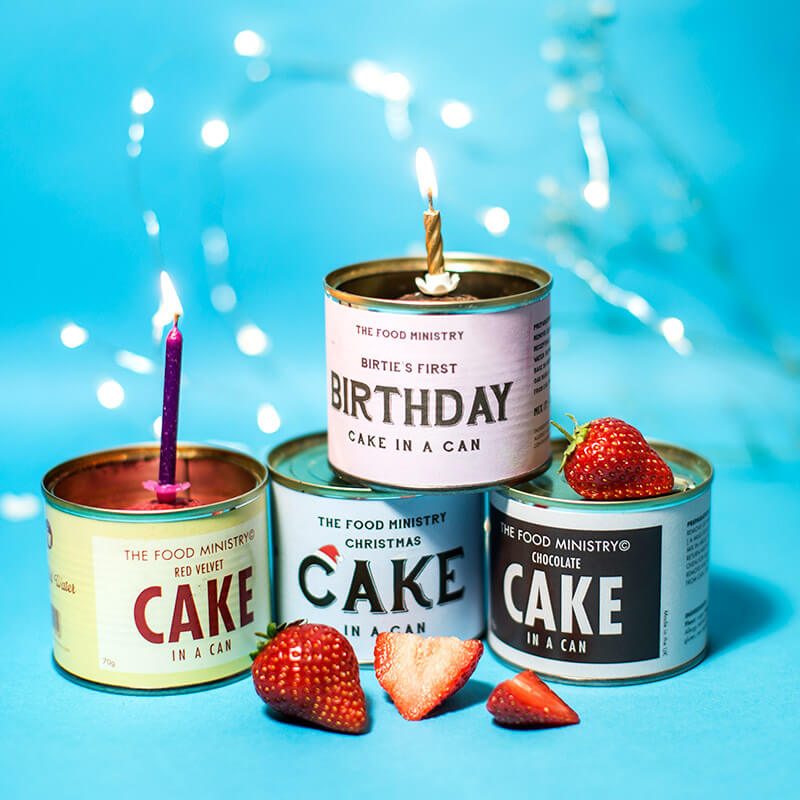Christmas Cake In A Can
