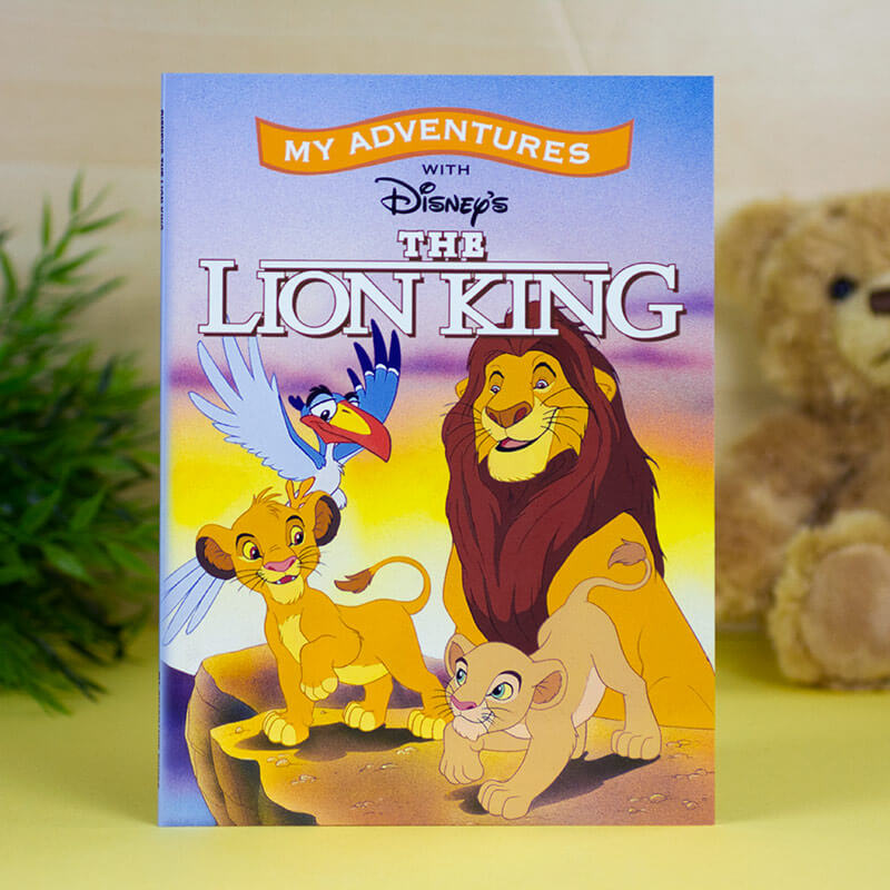 Personalised Disney Lion King Book