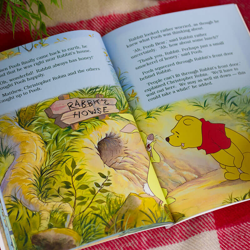 Personalised Disney Winnie the Pooh Book