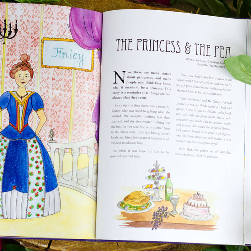 Personalised Fairy Tales Book