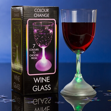 LED Wine Glass