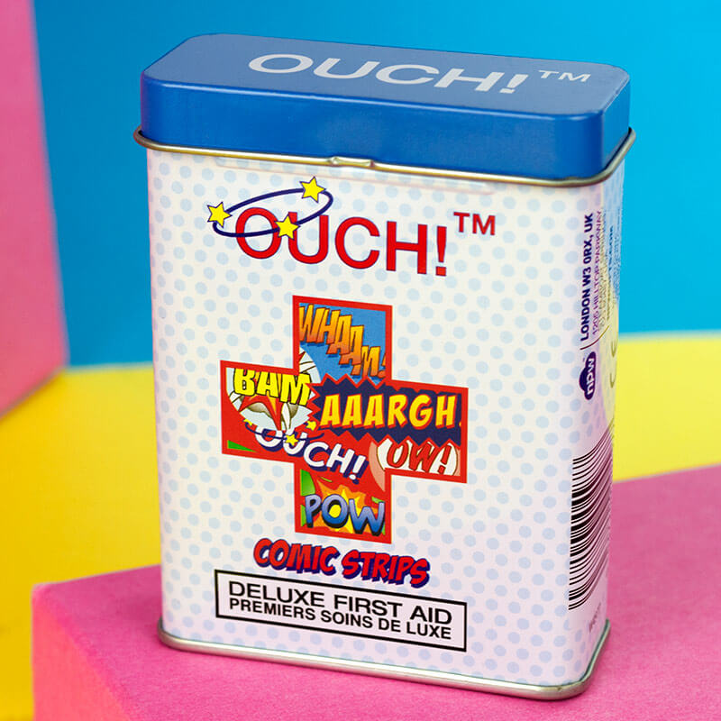 OUCH! Comic Strip Plasters