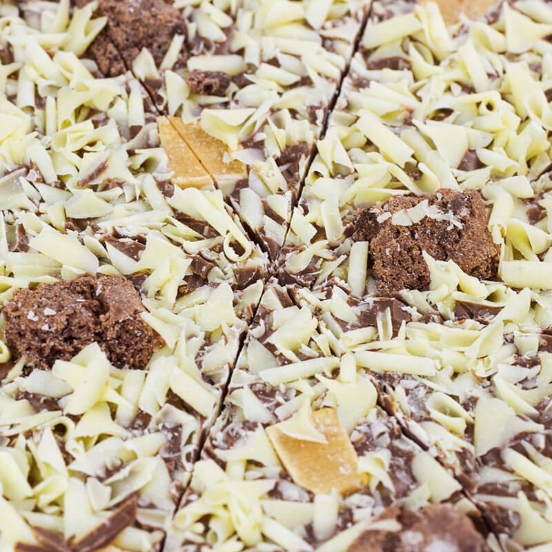 Chocolate Pizza - Crunchy Munchy -7''