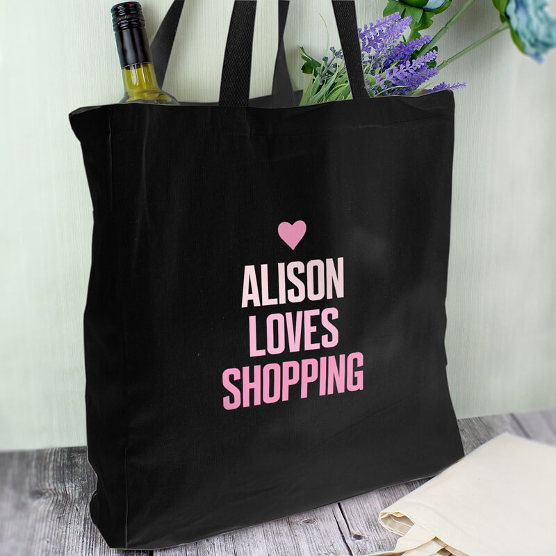 Personalised Cotton Shopper Bag