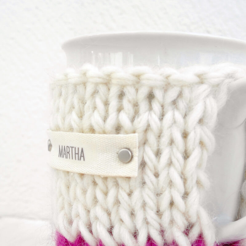 Personalised Colour Block Tea Cosy