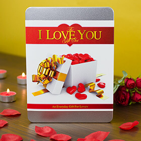 I Love You Gift Tin