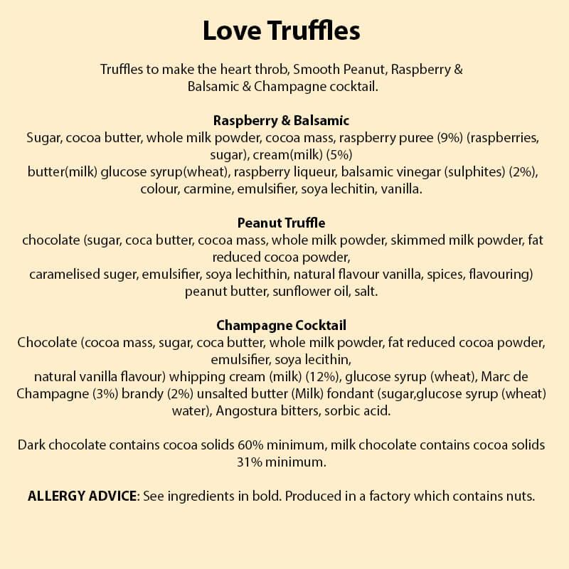 Chocolate Love Truffles