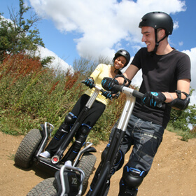 Extended Segway Rally for Two