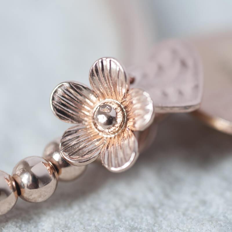 Personalised Rose Gold Bracelet