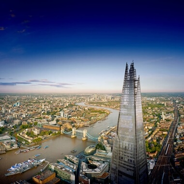 The View from The Shard with Thames Sightseeing Cruise for Two
